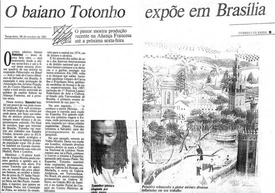 Correio da Bahia, 1991