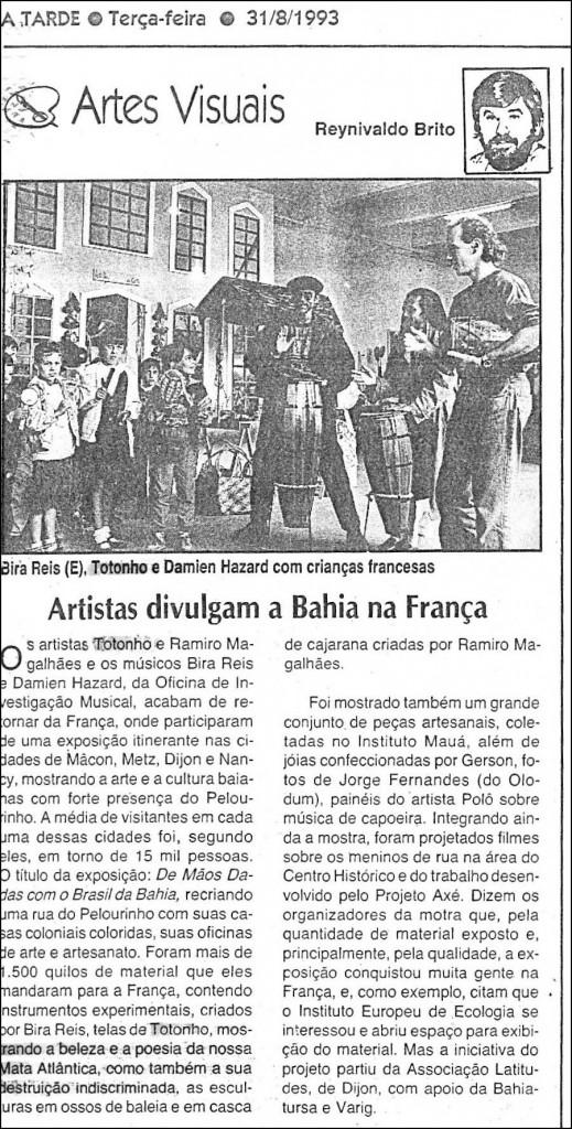 Jornal A Tarde, 1993