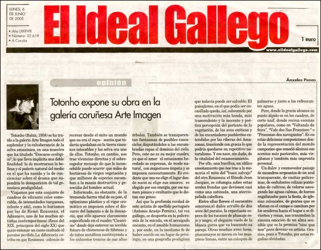 El Ideal Gallego, 2005