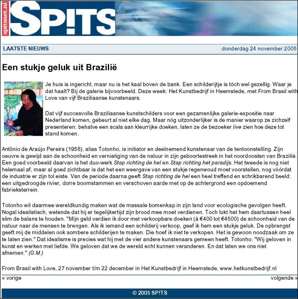 Spits, 2005