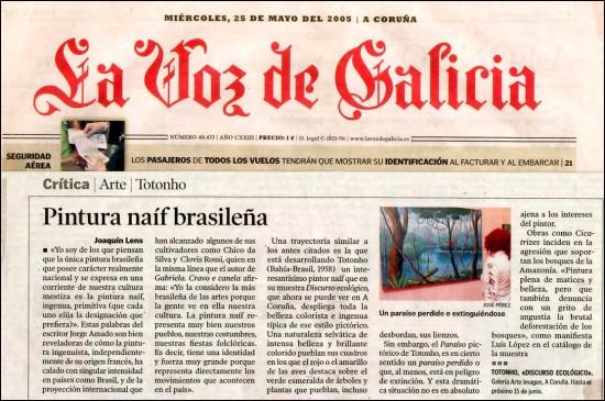 Voz da Galicia, 2005