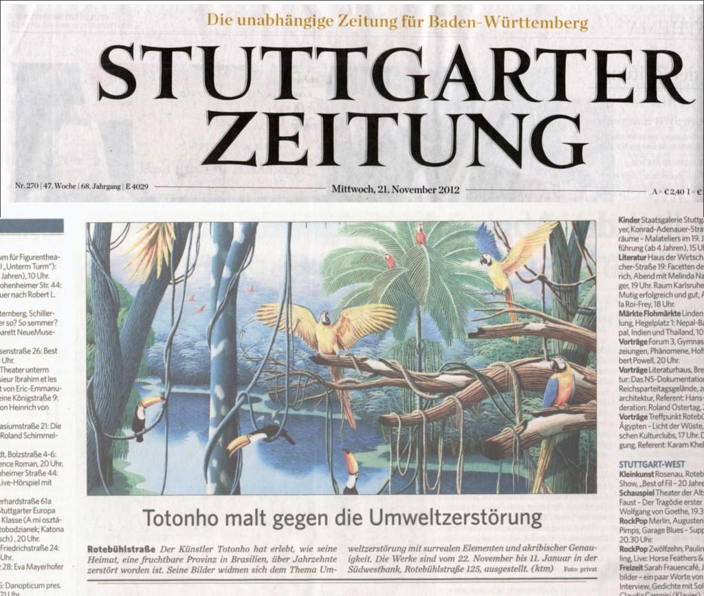 Stuttgarter Zeitung, 2012