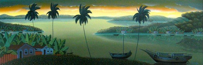 Brazilian sunset, landscape