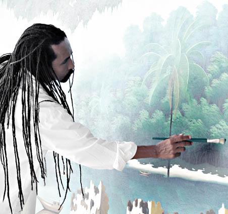 Totonho, Brazilian painter, pintor Brasileira