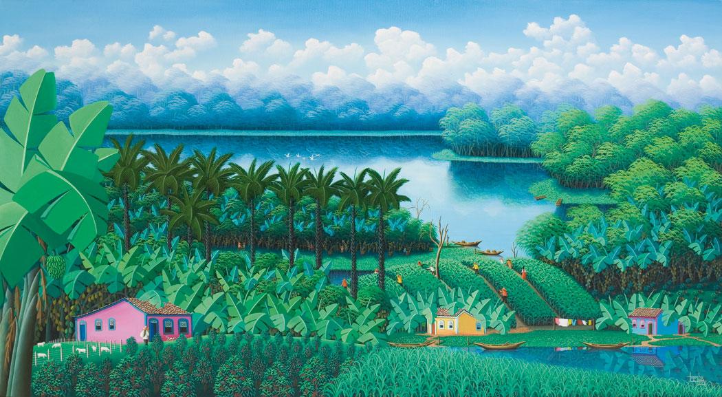 O nordeste também é Brasil, pintura Totonho