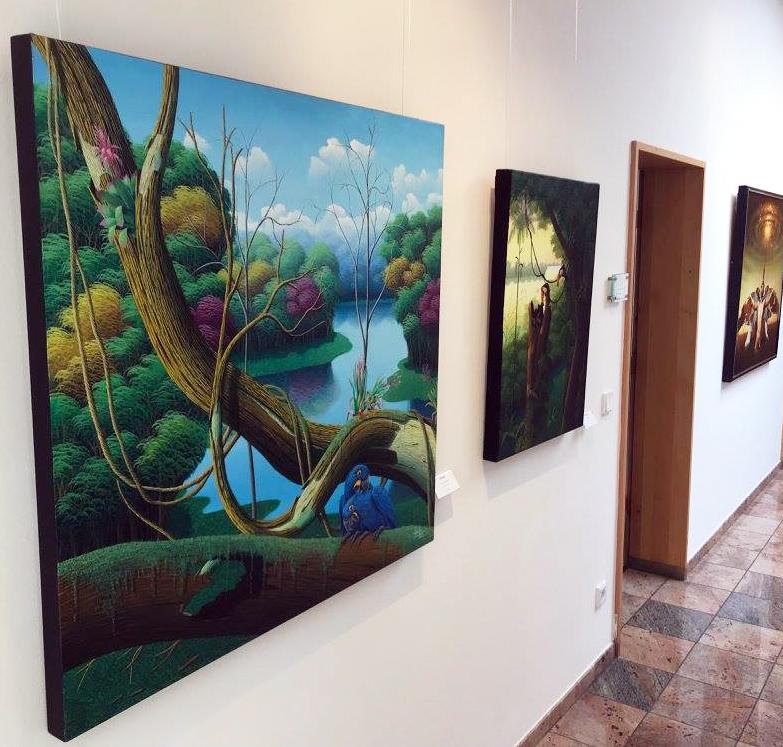 Dreamscapes exhibition in Austria